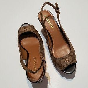 Coach Ferry Platform Shoes